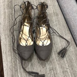 BCBGeneration flats -WORN ONCE-perfect condition